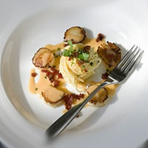 Seared Queensland Scallops