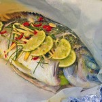 Oven Baked Thai Style Whole Bream