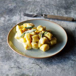 Pumpkin Gnocchi with Gorgonzola Sauce - Chef Recipe by Alessandro Pavoni and Roberta Muir