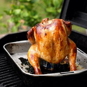 Beer Can Chicken - from Tooheys Cooking Handbook