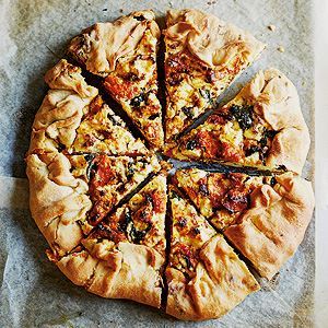 Roast Pumpkin, Ricotta and Caramelised Onion Tart - Chef Recipe by Cherie Bevan and Tass Tauro