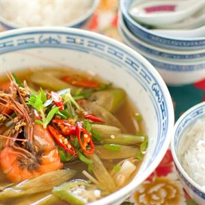 Canh Chua - Vietnamese Sour Tamarind Soup