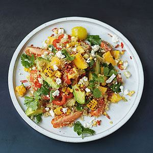 Grilled Corn and Quinoa Salad - Chef Recipe by Jamie Oliver