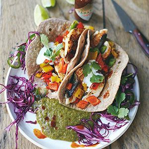 Tasty Fish Tacos - Chef Recipe by Jamie Oliver