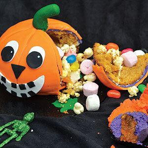 Jack the Pumpkin Lantern and Halloween Cupcakes - Recipe by Candice Clayton