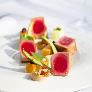 Confit Yellowfin Tuna - Chef Recipe by Anthony Shone
