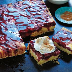 Cinnamon and Cherry Olive Oil Cake - Chef Recipe by Michele Cranston