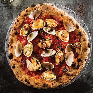 Pizza Con Vongole - Chef Recipe by Johnny Di Francesco