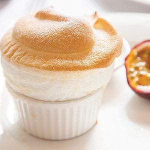 Passionfruit Souffle - Chef Recipe by Peter Howard