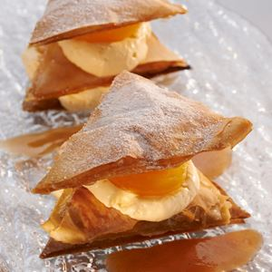 Honey Filo Parcels with Blue Hills Manuka Honey - Chef Recipe by John T. Bailey