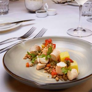 Salad of Octopus with Wasabi Mayonnaise - Chef Recipe by Terry Fidler