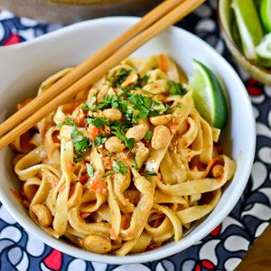 Chinese Cold Peanut Noodles