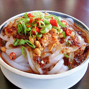 Liang Fen Mung Bean Noodle Salad
