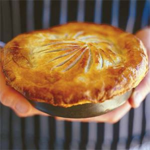 Maggie Beer's Coorong Angus Beef Pie with Red Wine