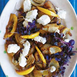 Maggie Beer's Fennel with Goats' Curd Salad