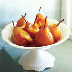 Maggie Beer's Glazed Pears with Mascarpone