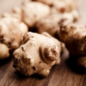 Roasted Jerusalem Artichoke