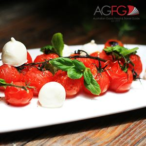 Blistered Tomato and Bocconcini Salad - Chef Recipe by Shawn Sheather