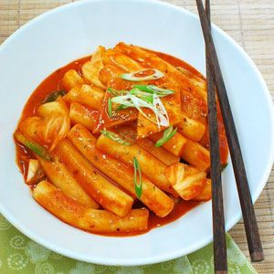 Spicy Korean Rice Cakes