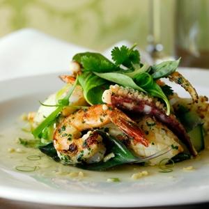 Grilled Prawn & Calamari
