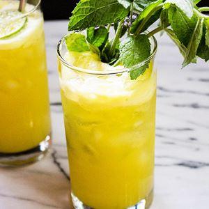 Pineapple Mint Juice
