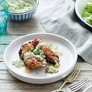 Spicy Quail Breasts with Shallot 'Butter' - By Ian Thorpe