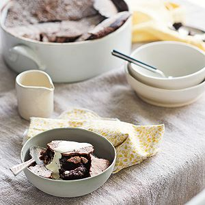 Chocolate Soufflé Pudding - By Anneka Manning
