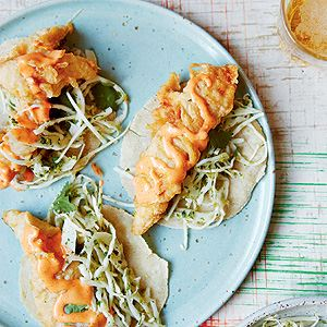 Baja Fish Tacos with Pickled Jalapeno Slaw - by Freddie Janssen
