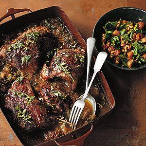 Braised Lamb with Saltbush and Rockmelon - Chef Recipe by Shane Delia
