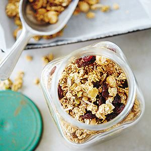 Pear, Hazelnut and Ginger Granola - by Kate Walsh