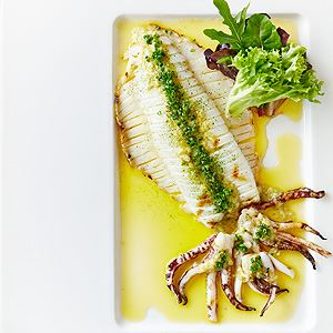 BBQ Calamari with Spicy Yuzu Sauce - by Ocha