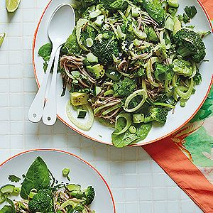 Green Goddess Noodle Salad - Hemsley and Hemsley