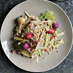Nashi, Radish, Ginger and Cashews - Chef Recipe by Peter Gordon