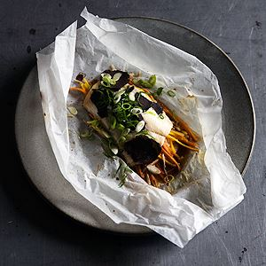 Snapper 'En Papillote' with Ginger Truffles - Chef Recipe by Rodney Dunn