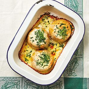 Twice-Baked Crab Souffles