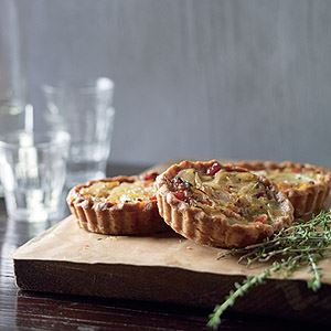 Onion and Bacon Tartlets by Manu Feildel