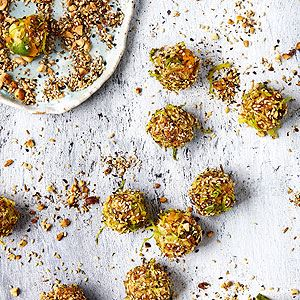 Pumpkin, Sprout and Sage Truffles with Dukkah - Chef Recipe by Zita Steyn