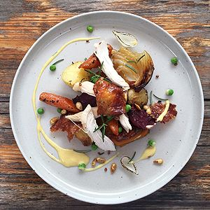BBQ Roast Chicken - Chef Recipe by Shawn Sheather