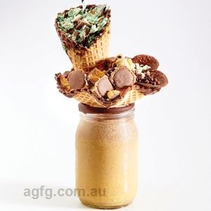 Double Decker Decadent Shake - Recipe by Matthew, Sarah & Brendan Aouad