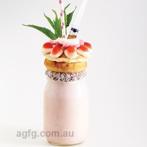 Pink Lady Decadent Shake - Recipe by Matthew, Sarah & Brendan Aouad