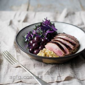 Seared Duck Breast Bowl