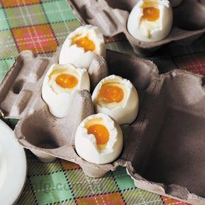 Lemon Curd Cheesecake Eggs - Recipe by Elise Strachan