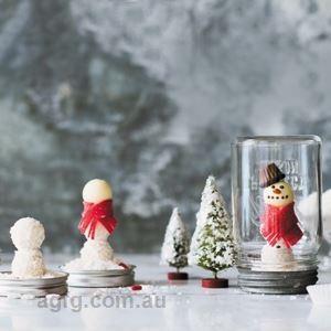 Snowmen Globes - Recipe by Elise Strachan