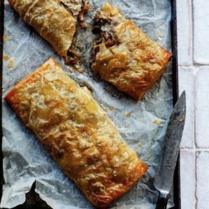 Mushroom Strudel - Chef Recipe by Antonio Carluccio
