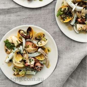 Seafood Antipasto - Chef Recipe by Neil Perry