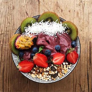 Acai Bowl - by The Boy and the Rose Cafe