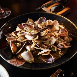 Pipis with Pork and Shaoxing Wine - Chef Recipe by Neil Perry