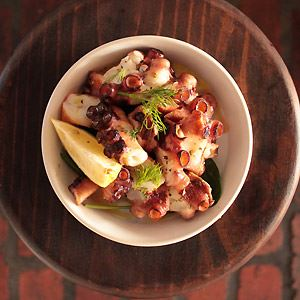 Ouzo Char-grilled Octopus - Chef Recipe by Philip N Vakos