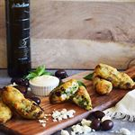 Lahano Keftedes (Vegetarian Croquettes) by The Greek Club