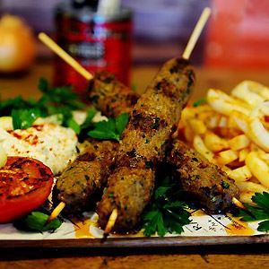 Lamb Kebabs by Kalimera Souvlaki Art